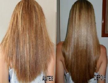 selagem para cabelo loiro