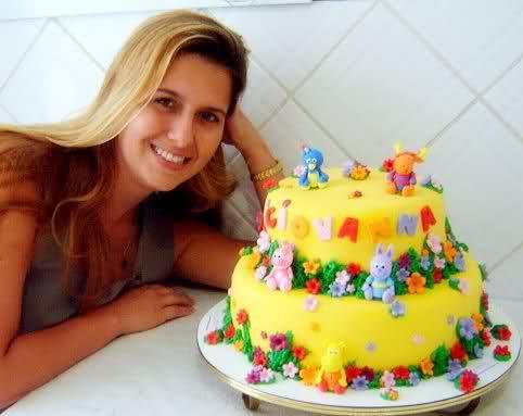 bolos decorados para aniversario infantil