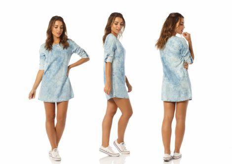vestido curto jeans 3 470x333 - Vestido Curto da Moda ( Veja como usar )