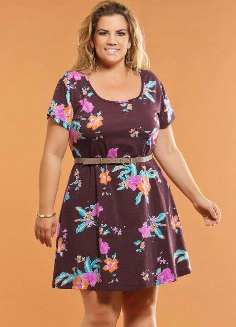 vestido curto plus size 3 470x650 - Vestido Curto da Moda ( Veja como usar )