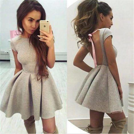 vestidos curtos rodados 470x470 - Vestido Curto da Moda ( Veja como usar )