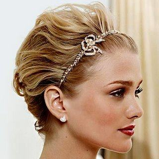 Penteado feminino para cabelos curtos - Penteado feminino para cabelos curtos