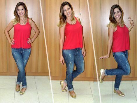 looks com blusas regatas 4 470x353 - LOOKS COM BLUSAS REGATAS para toda hora ( Com saia, shorts ou calça )