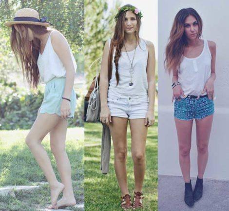 looks com blusas regatas 6 470x433 - LOOKS COM BLUSAS REGATAS para toda hora ( Com saia, shorts ou calça )