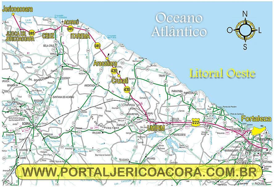 mapa de Fortaleza beira mar  Moda  Decor