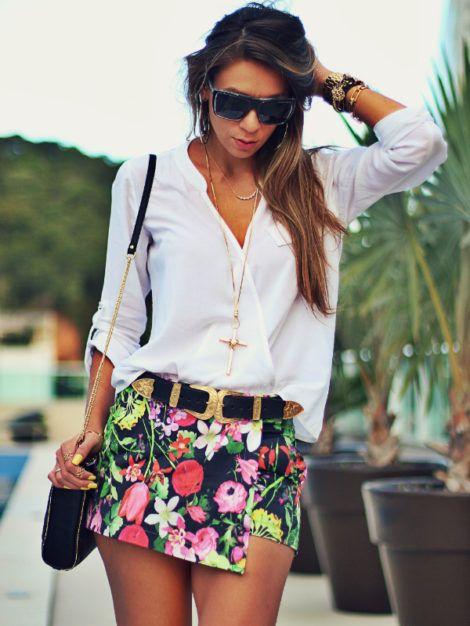 camisa branca feminina 4 470x626 - CAMISA BRANCA FEMININA usada com calça, shorts ou saia