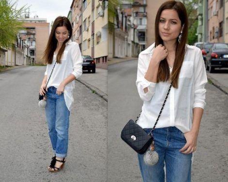 imagem 13 470x375 - CAMISA BRANCA FEMININA usada com calça, shorts ou saia