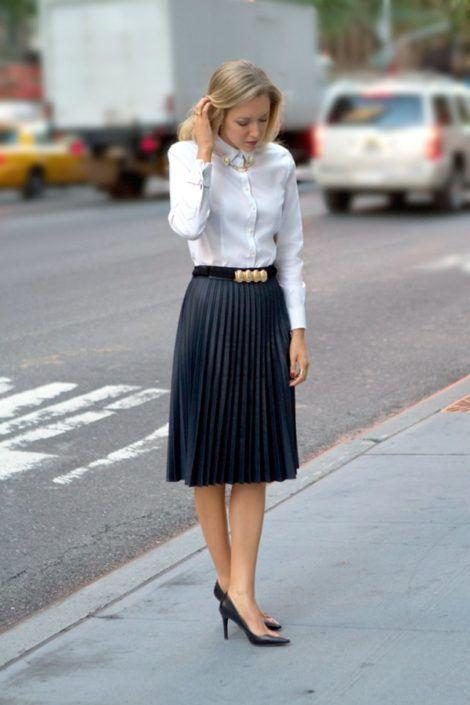 imagem 14 1 470x705 - CAMISA BRANCA FEMININA usada com calça, shorts ou saia