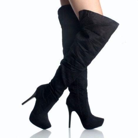 botas femininas cano alto 470x470 - CALÇADOS FEMININOS PARA INVERNO botas, coturnos e muito estilo