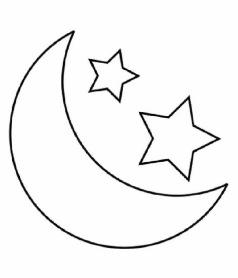 desenhos de estrela para colorir 30 470x550 - Desenhos de ESTRELA PARA COLORIR diversão de criança