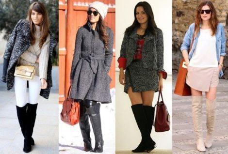 moda inverno botas cano alto 470x318 - CALÇADOS FEMININOS PARA INVERNO botas, coturnos e muito estilo