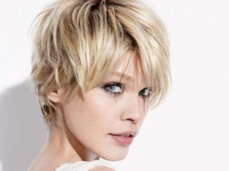 penteados para cabelos curtos 7 470x352 - Os CORTES E penteados cabelos curtos 2018