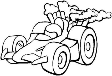 desenhos para colorir de carros 10 470x317 - Desenhos para colorir de CARROS para meninos