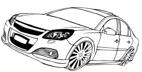 desenhos para colorir de carros 7 470x240 - Desenhos para colorir de CARROS para meninos