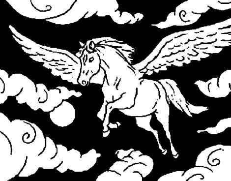 imagem 13 470x368 - Desenhos de CAVALO PARA COLORIR para crianças