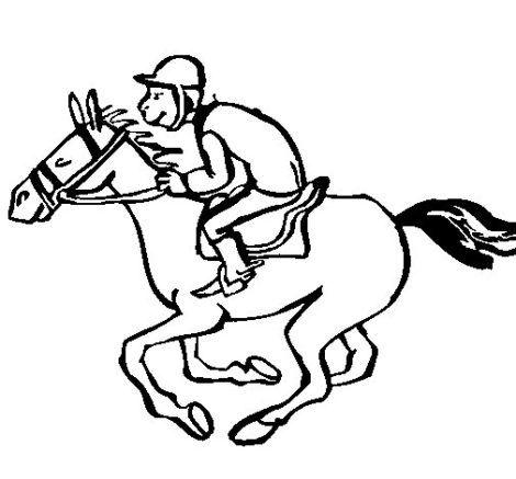 imagem 16 470x437 - Desenhos de CAVALO PARA COLORIR para crianças