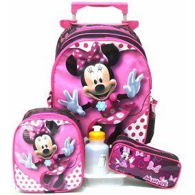 mochila de rodinhas para menina 1 - Mochila de RODINHAS PARA menino e menina para estudar