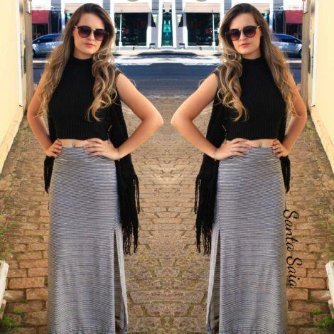 saias longas listradas 470x470 - SAIAS LISTRADAS curtas ou longas para um look original