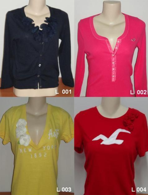 0977c2ba57 Camisetas femininas da Hollister