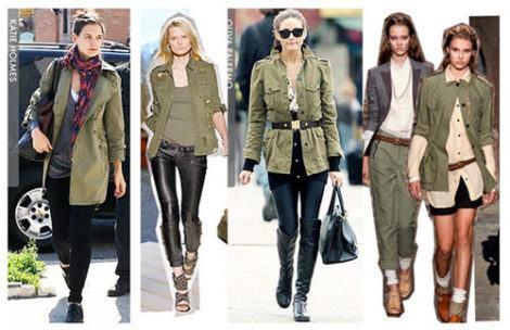 casaco militar feminino 470x304 - Casaco militar feminino, MODA INVERNO (Looks)