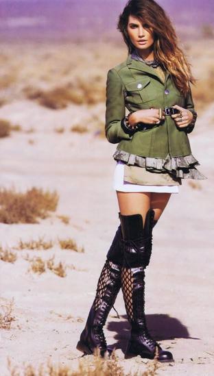 imagem 22 1 - Casaco militar feminino, MODA INVERNO (Looks)