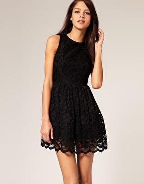 vestidos pretos curtos com renda - VESTIDOS PRETOS CURTOS OU LONGOS looks inspiradores