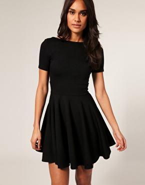 vestidos pretos lindos - VESTIDOS PRETOS CURTOS OU LONGOS looks inspiradores
