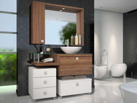 armarios para banheiro 6 470x353 - ARMÁRIOS PARA BANHEIRO planejados e modulados