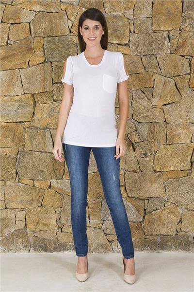 blusas de malha com calca 1 - BLUSAS DE MALHA femininas, Looks Com Calça, saia, Short