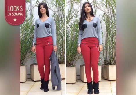 blusas de malha com calca 2 470x331 - BLUSAS DE MALHA femininas, Looks Com Calça, saia, Short