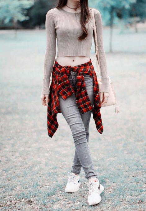 imagem 16 1 470x677 - BLUSAS DE MALHA femininas, Looks Com Calça, saia, Short