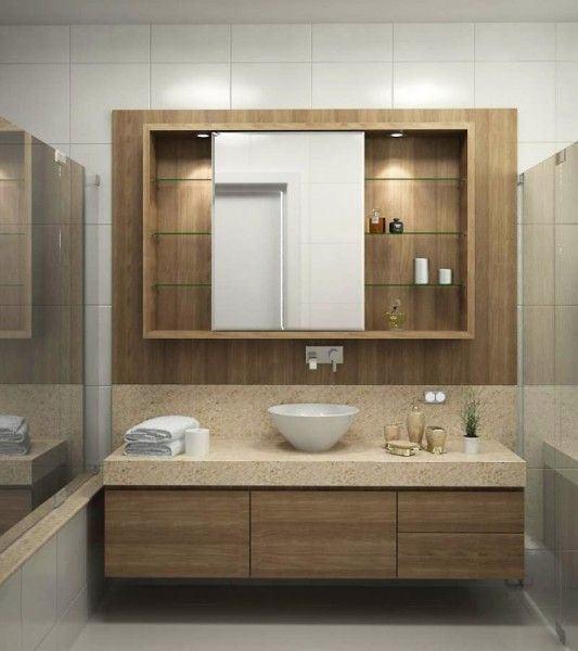 Modulados Para Banheiro : Arm?rios para banheiro planejados e modulados moda decor