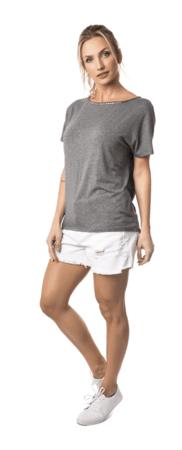 imagem 9 - BLUSAS DE MALHA femininas, Looks Com Calça, saia, Short