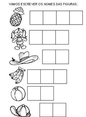 atividades para alfabetizacao atividades para alfabetizar 2 - ATIVIDADES DE ALFABETIZAÇÃO para leitura e pintura
