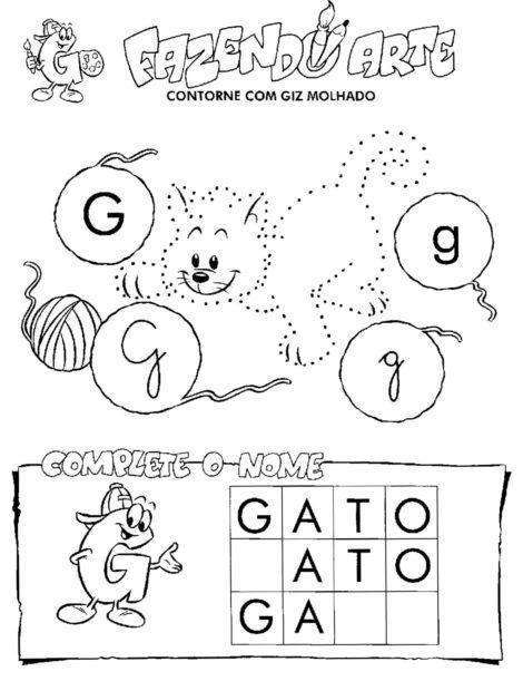 atividades para alfabetizacao atividades para alfabetizar 5 470x611 - ATIVIDADES DE ALFABETIZAÇÃO para leitura e pintura