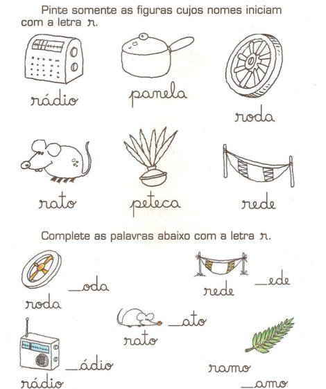 atividades para alfabetizacao atividades para alfabetizar 6 470x562 - ATIVIDADES DE ALFABETIZAÇÃO para leitura e pintura