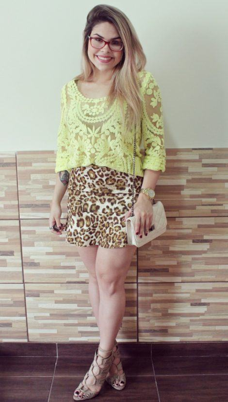imagem 26 2 470x827 - BLUSA DE RENDA AMARELA, modelos para usar com saia e shorts