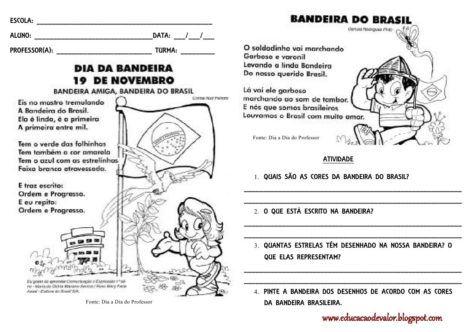 atividades para o dia da bandeira 12 470x332 - Atividades sobre o DIA DA BANDEIRA para fazer em sala de aula