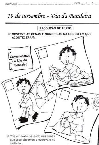atividades para o dia da bandeira 4 - Atividades sobre o DIA DA BANDEIRA para fazer em sala de aula