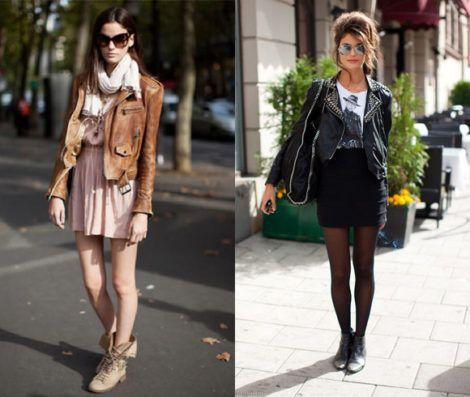 jaquetinhas de couro femininas 2 470x397 - Modelos roupas femininas inverno 2018 da moda