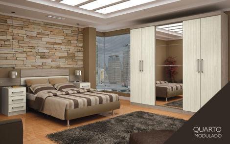 moveis para dormitorio casal modulados 470x295 - MÓVEIS PARA DORMITÓRIO CASAL roupeiros camas, tapetes e mais