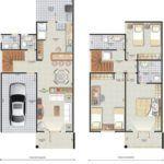 plantas de sobrados de 3 andares online 150x150 - Plantas de sobrados de 3 andares com vários quartos