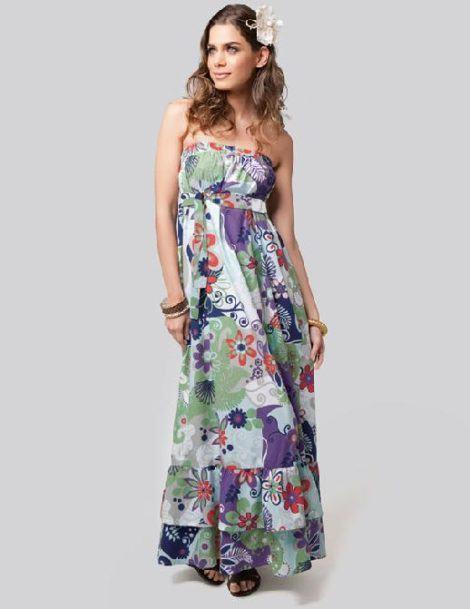 vestido tomara que caia longo floral 470x609 - VESTIDO FLORAL TOMARA QUE CAIA, curto ou longo moda verão