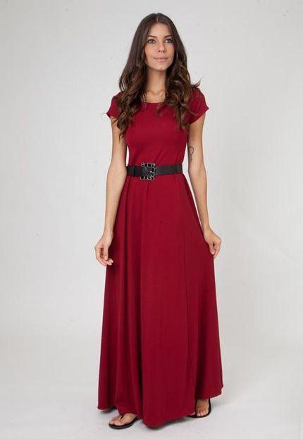 vestidos longos de malha 1 - VESTIDOS LONGOS DE MALHA fria lindos e muito confortáveis
