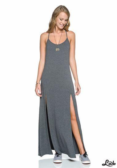 vestidos longos de malha 2 - VESTIDOS LONGOS DE MALHA fria lindos e muito confortáveis