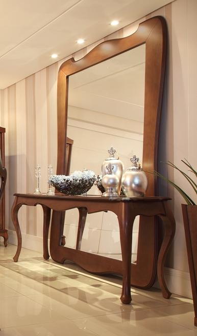 aparador com espelho na parede modelos 1