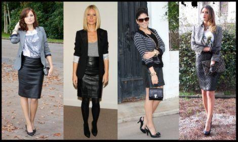 blazer feminino com saia 2 470x281 - Como usar BLAZER FEMININO com saia, calça