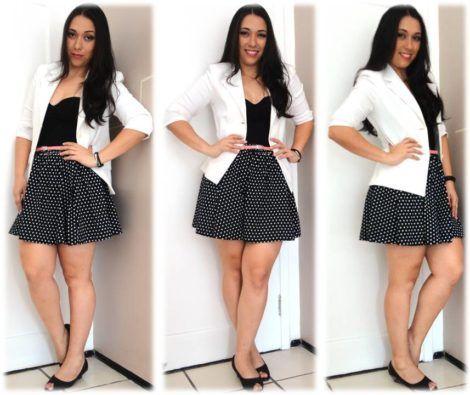 blazer feminino com saia 4 470x395 - Como usar BLAZER FEMININO com saia, calça