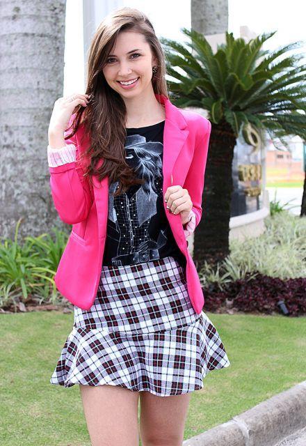 blazer feminino com saia 6 - Como usar BLAZER FEMININO com saia, calça