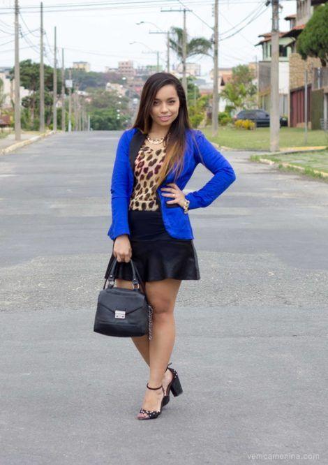 blazer feminino com saia 8 470x666 - Como usar BLAZER FEMININO com saia, calça